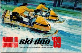 Manuel du conducteur des motoneiges Ski-Doo Olympic 1969