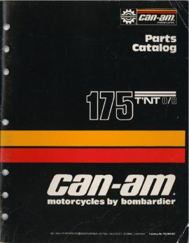 Catalogue de pièces/Parts Catalog Motocyclette Can Am