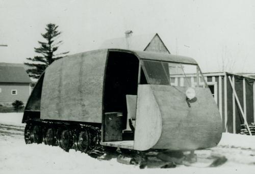 Autoneige autoneige b12 1941 - archives - bombardier