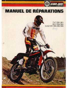 Manuel de réparation/Shop Manual Motocyclette Can Am